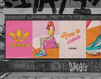 HERE TO CREATE // adidas