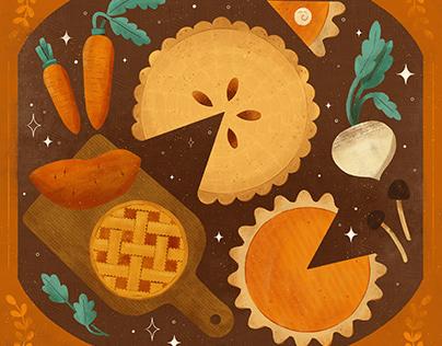 Pie, Peachtober 2020