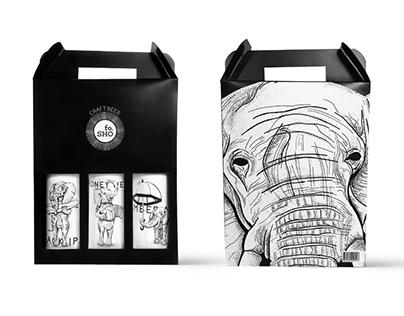 Fosho Craft Beer   Packaging