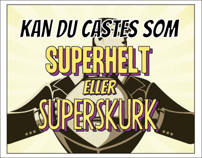 Superhero Or Supervillain - Flowchart -Onlinecasting.dk