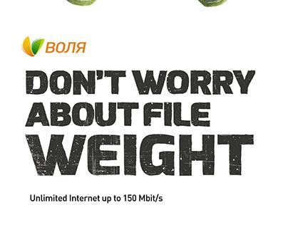 Volia Unlimited Internet. Print