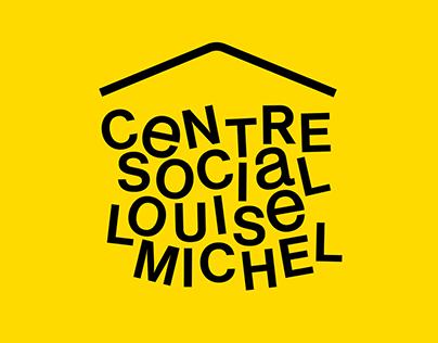 Louise Michel Social Centre - Visual identity