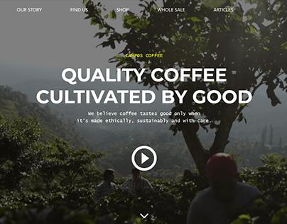 Campos Coffee | Web Design