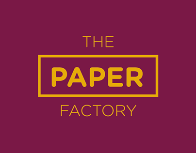 The Paper Factory Design | Identity