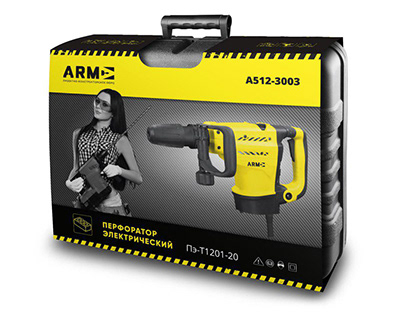 Package for powertools