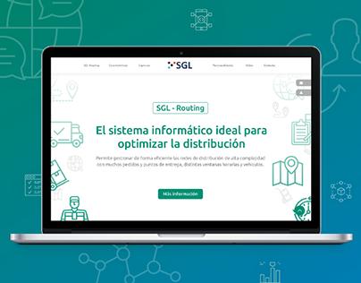 Website Design - Software Company