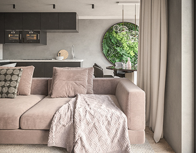 CGI: Living room #1   Vienna