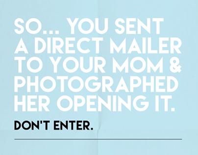 APEX AWARDS | Don't Enter
