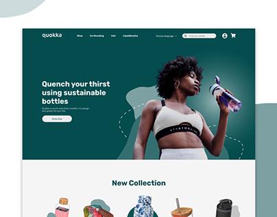 Quokka Website Re-Design