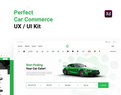 Car Commerce UX / UI Kit