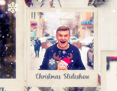Christmas Photo Frame (After Effects Template)