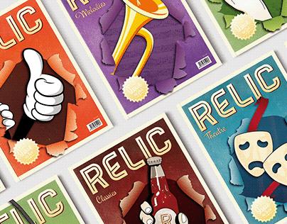 RELIC - Vintage Magazine Series