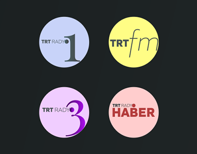 Revision of TRT Radyo logos