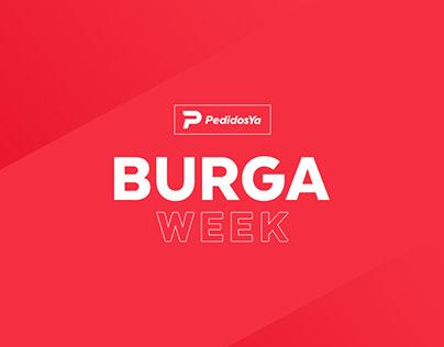 PEDIDOS YA Burga Week