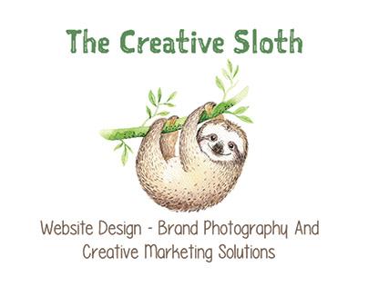 The Creative Sloth Logo