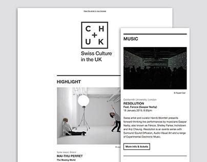 CHUK-MailChimp-Newsletter