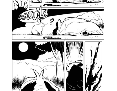 "PAGE 14 INKED - ""MEAT & POTATOES ISSUE #1"""