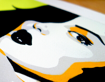 5 Layered Stencil (Sophie)