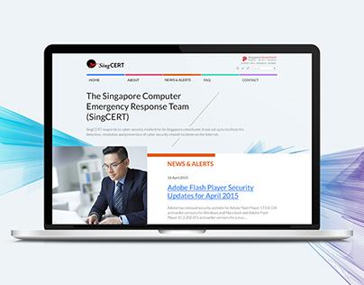 SingCert Web Design
