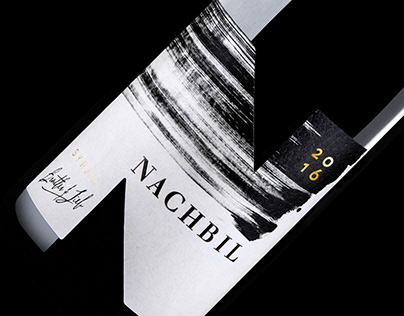 Monochrome label design