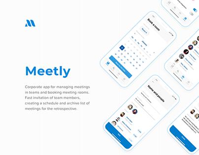 Meetly - iOS app for managing meetings