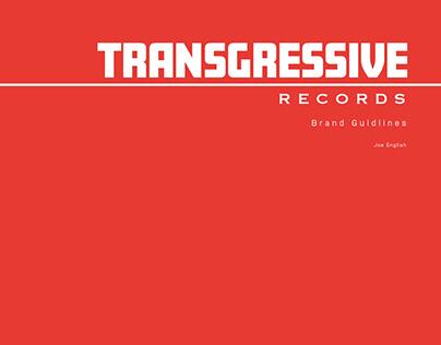 Transgressive Records Brand Guidelines