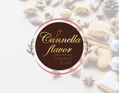 Cannella flavor | Bakery logo design