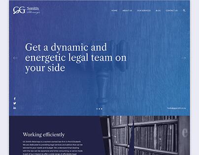 GG Smith WordPress Theme