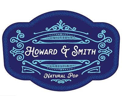 Howard & Smith Soda Branding and Packaging