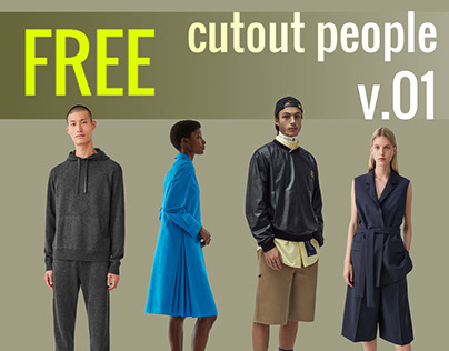 Free Cut Out People Vol. 01