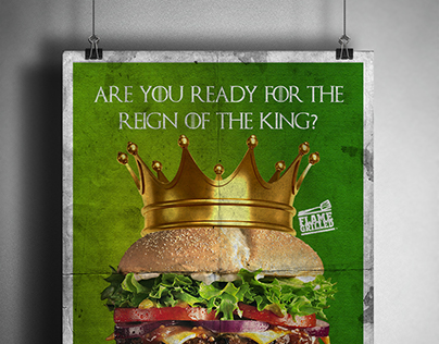 Burger King Advertisements(School Project)