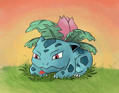 Ivysaur fanart