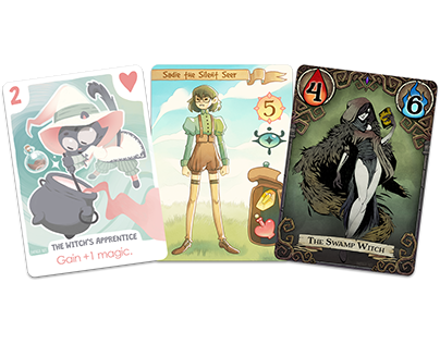 Witchy Card Designs