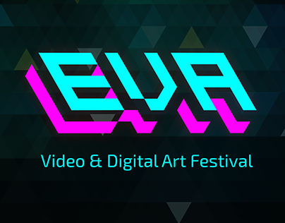 EVA, Video & Digital Art Festival - Brand Identity