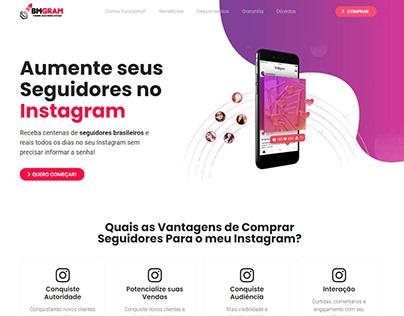 BMGRAM - Página de vendas