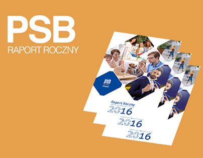 RAPORT ROCZNY PSB 2016// ANNUAL RAPORT PSB 2016