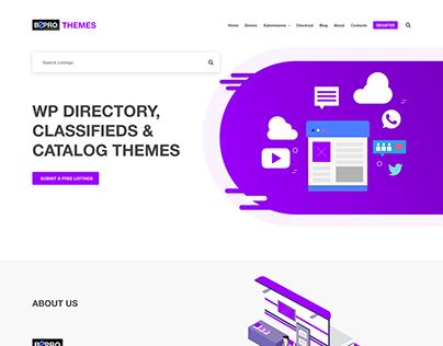 BeProThemes.com website redesign