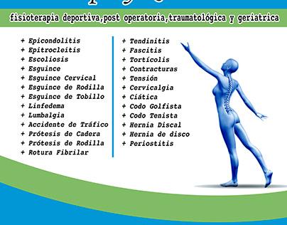 Fisioterapia / Cartel