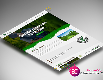 Homepage Layout for Tree Trimmers