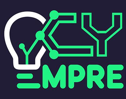 Cyber Emprendedor Logo Animation