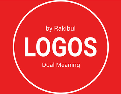 A collection of unique dual meaning logo design concept
