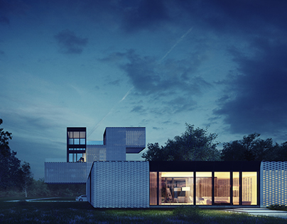 TWO, THREE AND FOUR : Greenport Courtyard House