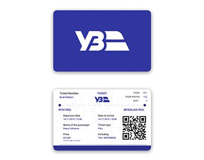 Redesign of Ukrainian Railway ticket