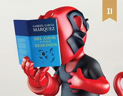 Mundo Literario: Print campaign