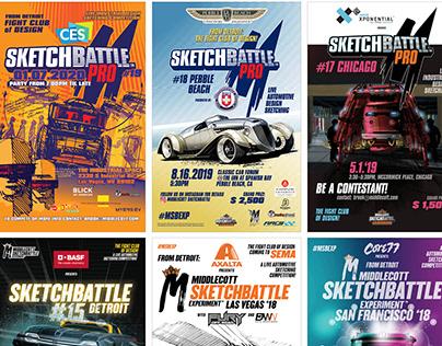 Sketchbattle posters