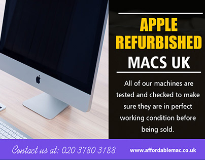 Refurbished iMac Laptop UK