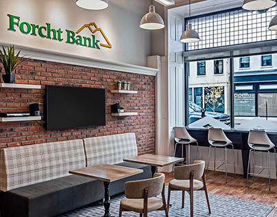 Environmental Graphic Design: Forcht Bank Branch