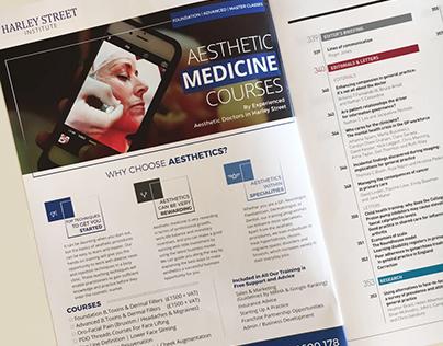 Magazine Ad | Aesthetic Medicine Courses