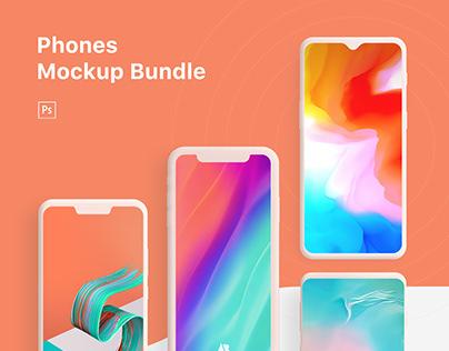 Phones Mockup Bundle