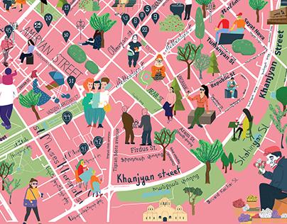 TUMO lab: gastronomic map of Yerevan